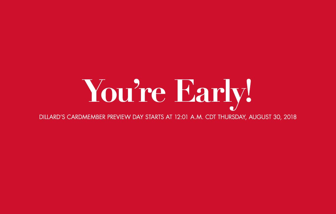 efe60a7abcf7a Dillards extra 30-40% off clearance...in stores and online ..Starts  Thursday August 30th