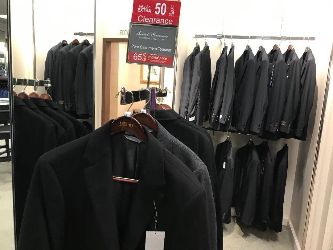 3608bbd96 Dillards extra 50% off clearance in Men's department ..IN STORE ONLY YMMV