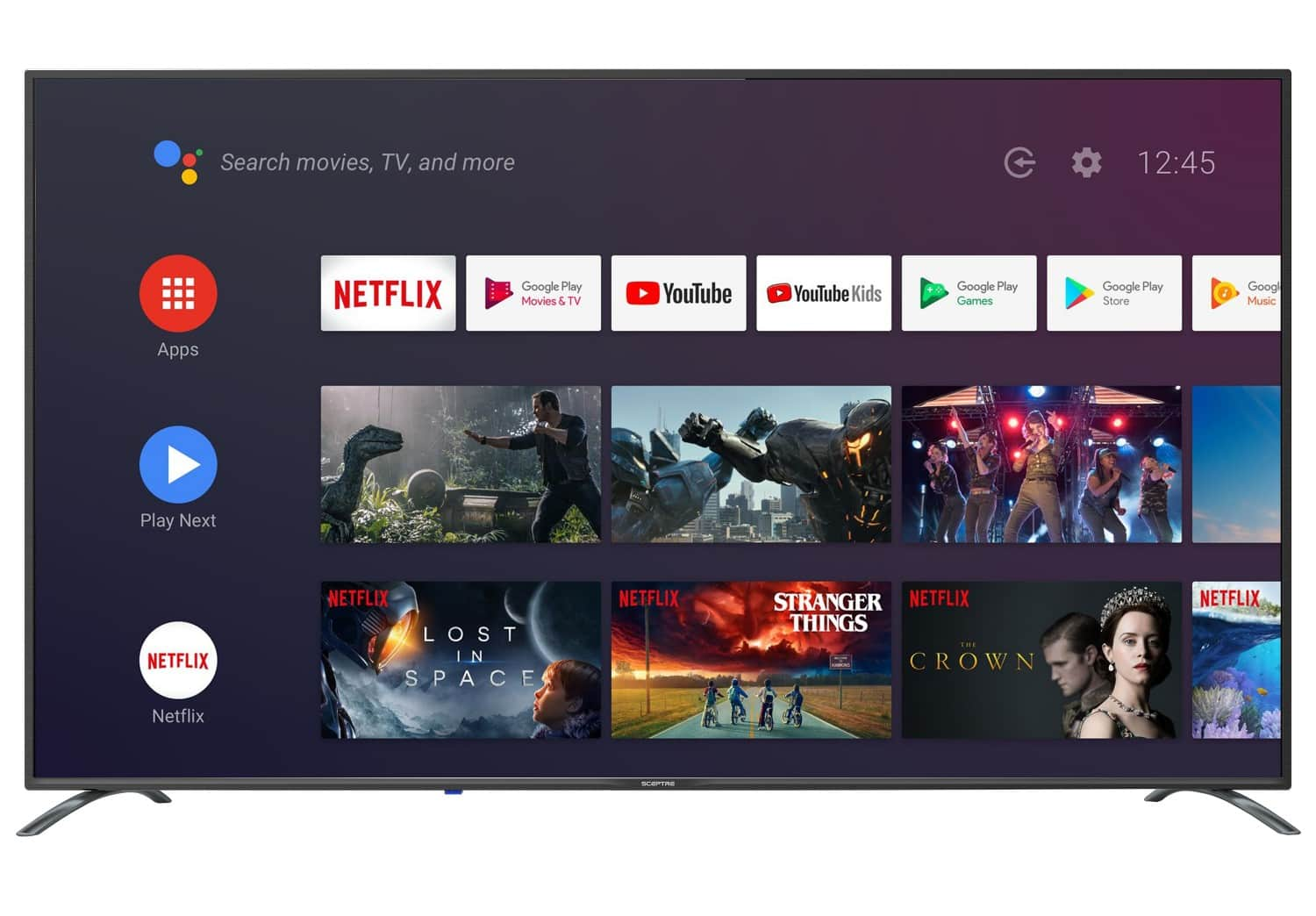 "Sceptre 65"" 4K Smart TV with Google Assistant $398.. Free Shipping....Walmart"