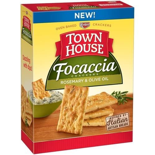 Town House Focaccia Rosemary and Olive Oil, 9 Ounce $1.70 with S &S from amazon.com