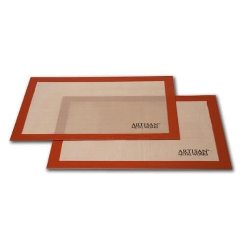 "2-Pack of Artisan 16.5""x11"" Silicon Non-Stick Baking Mats $9.62 @ Sam's club. Online only and free shipping"