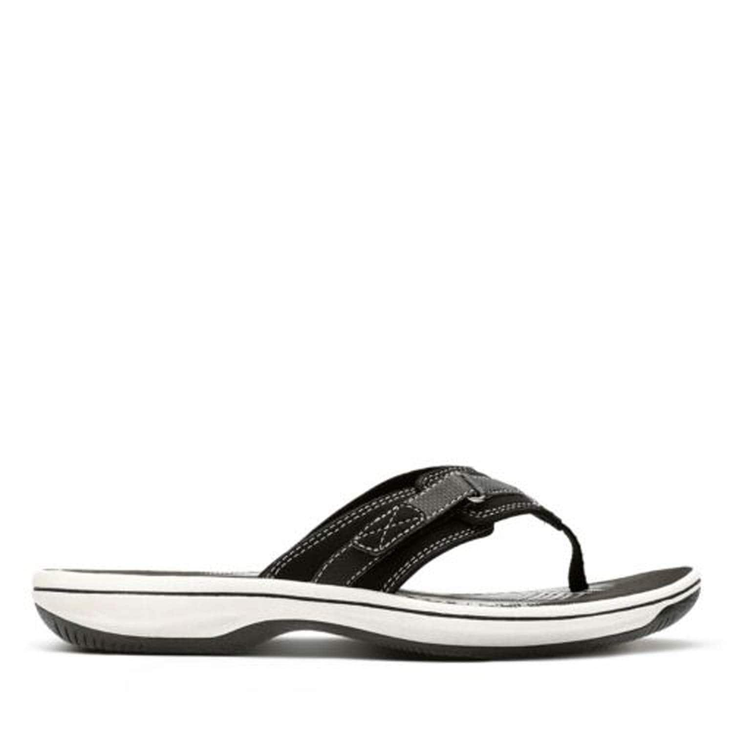 Amazon has Clark's Women's Breeze Sea Flip-Flops starting from $26.02 + free shipping!  Reg price $50-$55! Highly rated