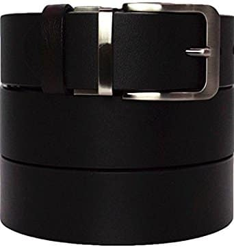 Reversible top grain leather belt multiple styles available with amazon prime $9-12 $9.2