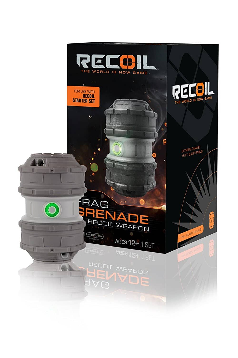 Recoil Laser Combat - Frag Grenade Amazon and Wal-Mart $9.57