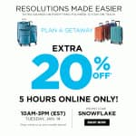 Kohl's extra 20% off - 5 Hours Only Today - 10am - 3pm (EST) Tuesday 1 /14 *UPDATE - Still working - now YMMV