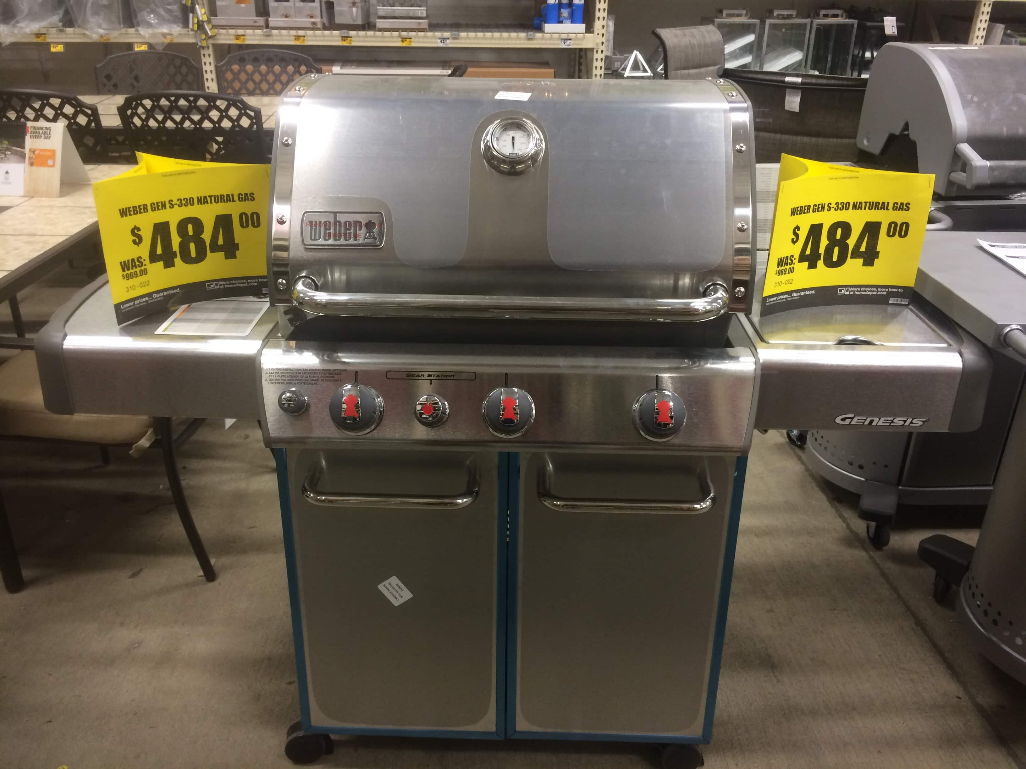 Home Depot Natural Gas Grills Sale