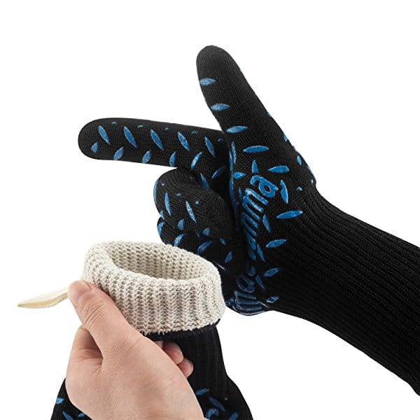 Simdevanma 100% Kevlar Gloves -  Oven/Welding/Fire with Cut Resistance $7.99 + F/S On Orders Over $25