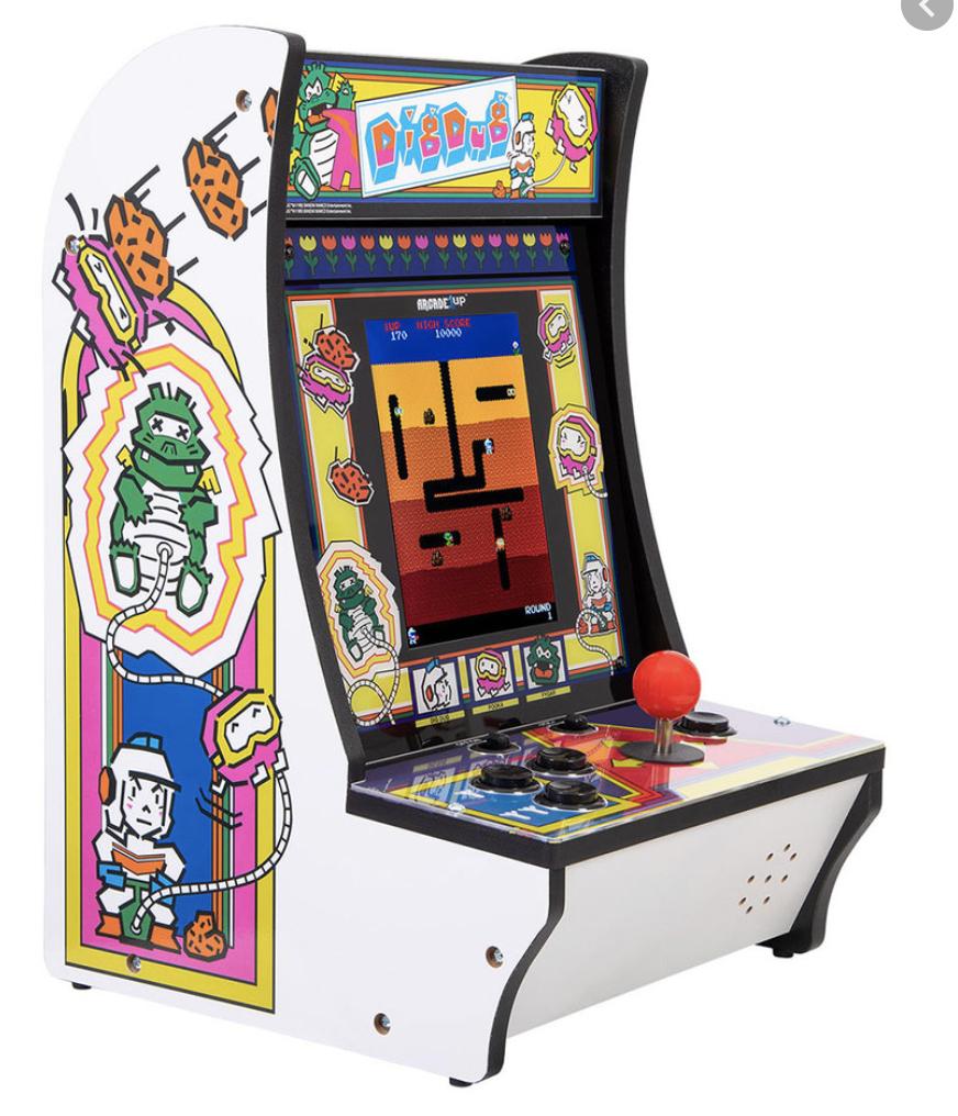 Dig Dug Arcade 1up Countercade $69
