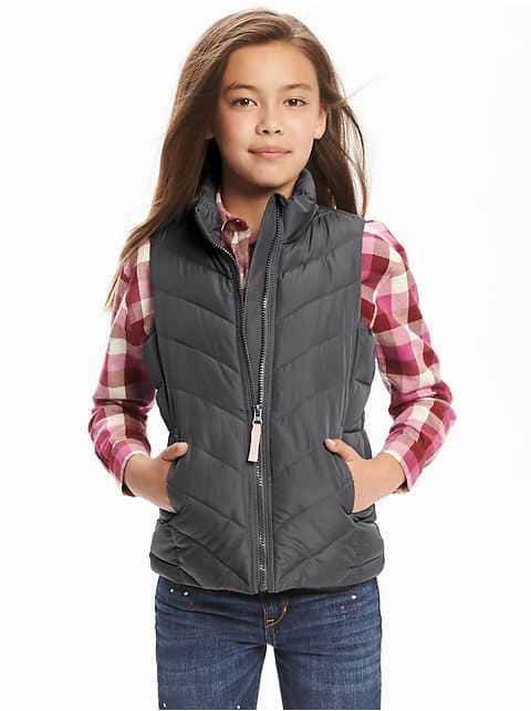 Today Only Old Navy Frost Free Vests For Whole Family $12 & $15 Online & In Store