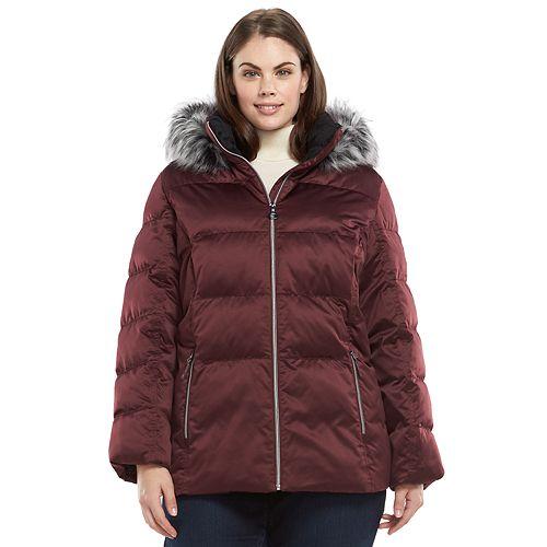 Kohls.com Cardholders Women's Plus Size Winter Coats from $21 Shipped