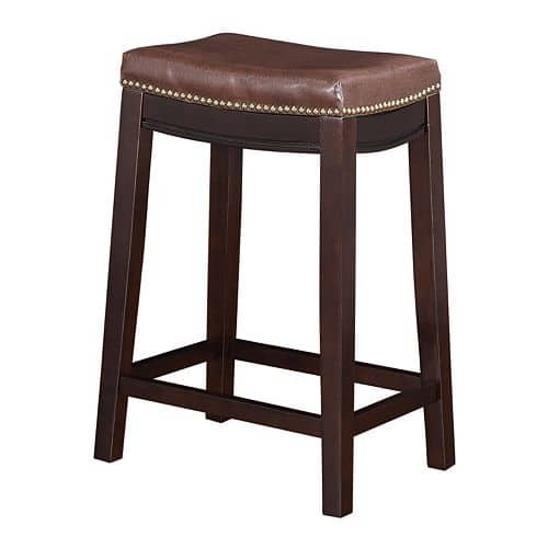 """Kohls Cardholders Linon Allure 24"""" Counter Stool $37 Shipped, 8 Colors Available"""
