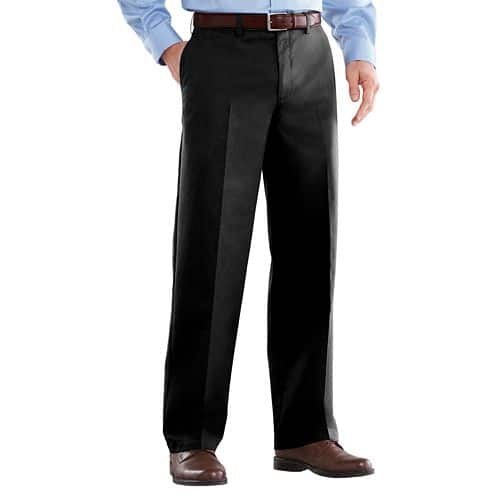 Kohls Cardholders: 3 Pair Men's Croft & Barrow® Easy-Care Classic-Fit Flat-Front Pants $26.62 Shipped ($8.87 Each)