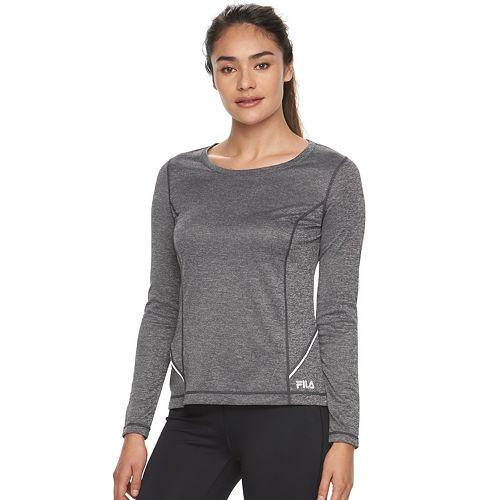 Kohls Cardholders: Women's Fila Breakthrough Workout L/S Tee $7, Fila Sports Bra $8.40 & More Fila Activewear + Free S/H