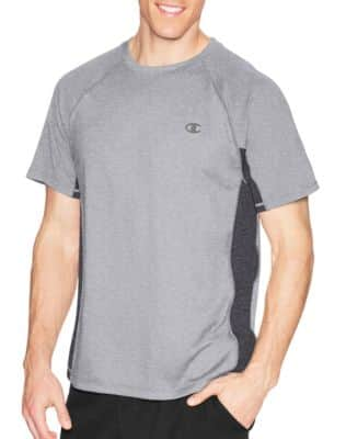 Champion Men's Vapor Or Cotton Jersey Tee $5.99, Compression Gear L/S Tee $9.99 & More + Free S/H