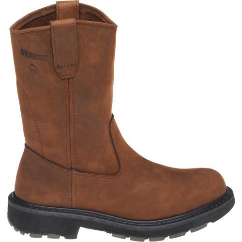 "Wolverine Men's Wellington Work Boot $42.99, Wolverine Men's Steel-Toe 8"" Kiltie Lacer Boot $44.99 + Free S/H"