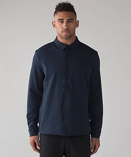 Lululemon.com Men's Sojourn L/S Buttondown $49, Women's I Put A Shell On You Jacket $49 & More + Free S/H