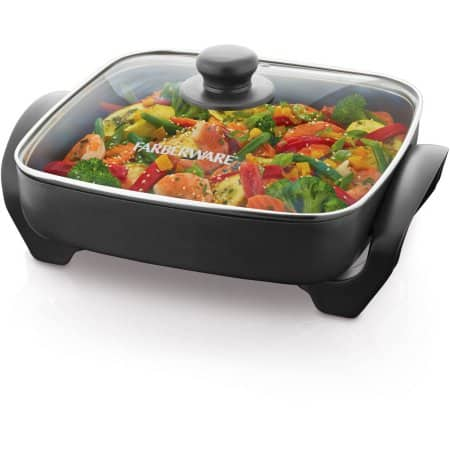 "Jet.com Farberware 11"" Square Electric Skillet $9.99"
