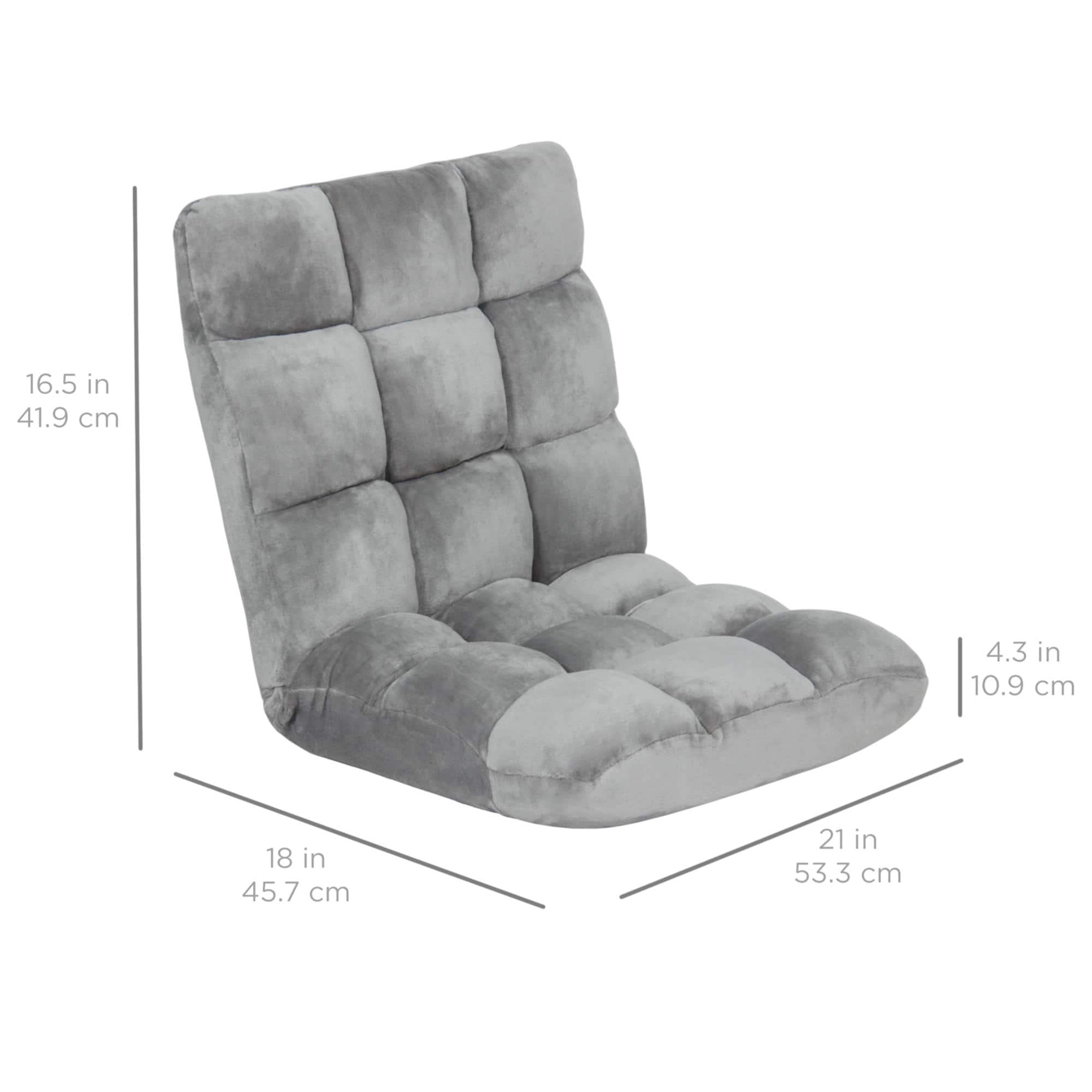 Best Choice Memory Foam Cushioned Gaming Chair $34.99 + Free S/H