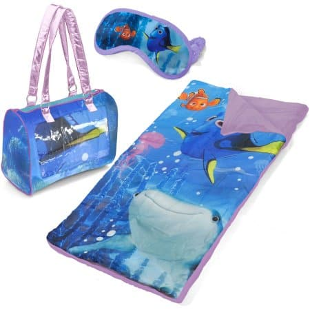 Walmart Finding Dory 3 Pc Sleepover Purse Set $10 Includes Slumber Bag, Carry Purse & Eyemask + Free Store Pick Up