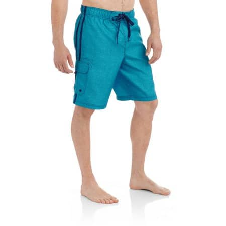 Walmart: OP Men's Elastic Waist Texture Print Cargo Swim Trunks or Fixed Waist Swim Trunks $5.50 & More + Free Store Pick Up
