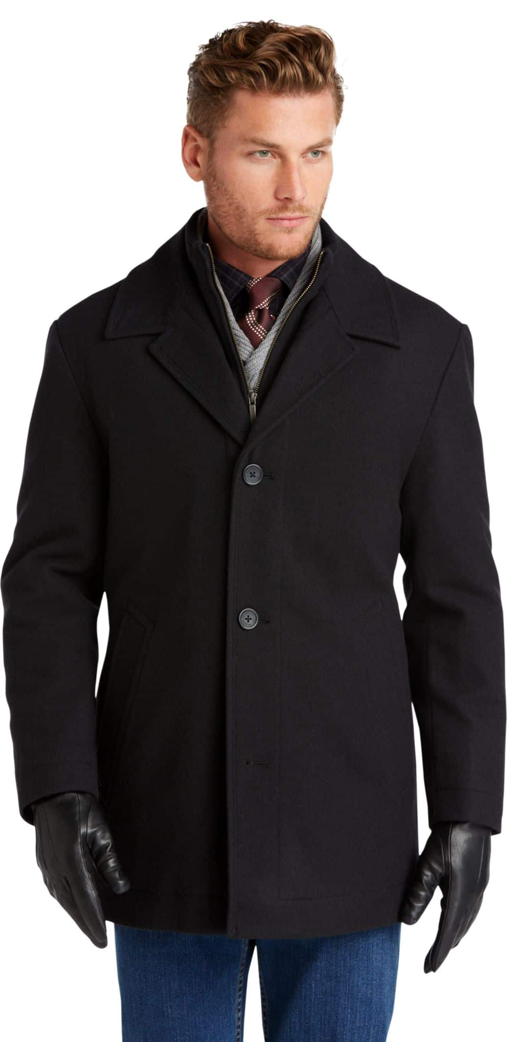 Jos A Bank Outerwear Sale: Casual Coats $69, Wool Coats $79, Topcoats $99 & More + Free S/H