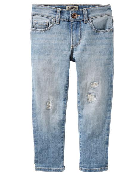 OshKosh Girls Girlfriend Fit Jeans - Anguilla Wash 3 Pair $12 ($4ea) + Free Store Pick Up