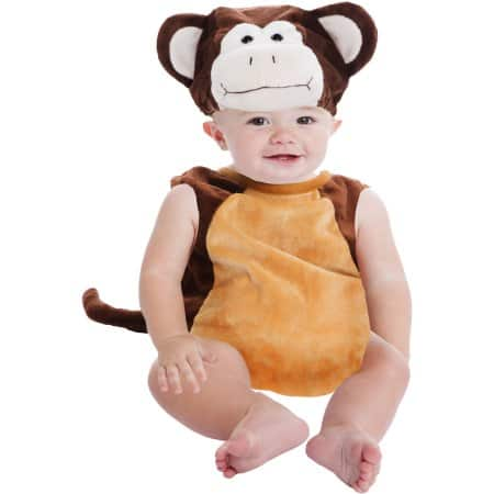 Walmart Infant & Toddler (up to 2T) Costumes Monkey Bubble from $6.75, Pig Bubble from $6.25 & More + Free Store Pick Up