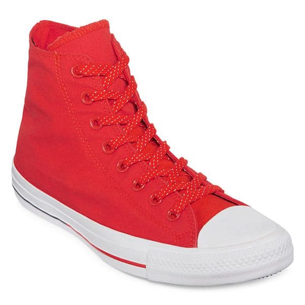 JCPenney Converse® Chuck Taylor All Star Shield Mens High-Top Sneakers  $15.20 Red, Chuck Taylor All Star Black High Top $17.99 & More + Free S/H