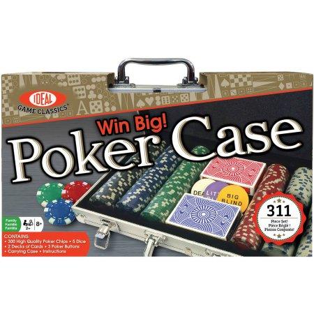 Walmart: Ideal Win Big! Poker Case, 300-Piece Set $13.27 + Free Store Pick Up