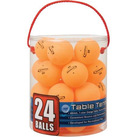 Walmart: Halex Orange Table Tennis Ball/Cylinder, 24pk $5.95 + Free Store Pick Up