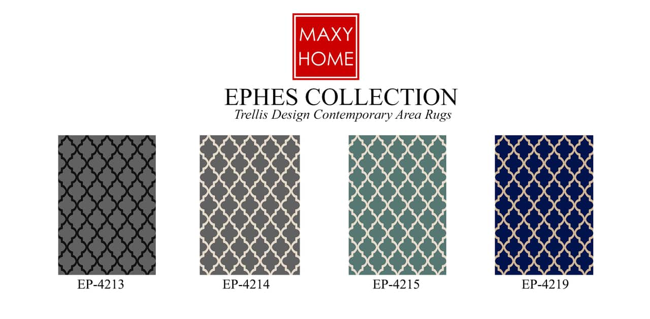 Maxy Home Ephes Collection Soft Anti-Bacterial Runner Rug 2'x'8' $18.95 4 colors + Free S/H
