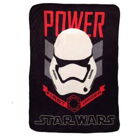 Walmart: Star Wars Episode VII Throw $5.98, Star Wars Episode VII Force Awakens Shower Curtain $5.96 & More + Free Store Pick Up