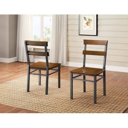 Walmart: Better Homes and Gardens Mercer Dining Chair, Set of 2 $33.67 + Free Store Pick Up