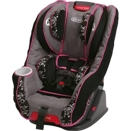 Graco Fit4Me 65 Convertible Baby Car Seat, Lacey $99.99 + Free S/H