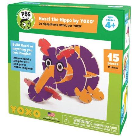 Walmart: YOXO PBS KIDS Hazel the Hippo Creative Building Toy $3.43 + Free Store Pick Up