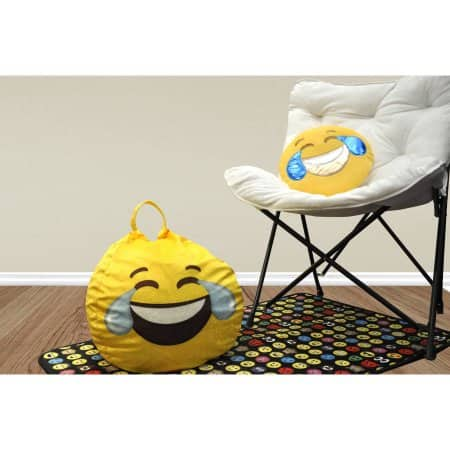 Walmart Emoji Pals Mini Bean Bag With Handle 5 Toddler Size Tears Of