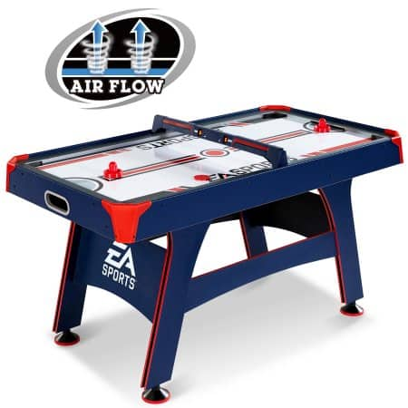 EA Sports 60 Inch Air Powered Hockey Table with Overhead Electronic Scorer $89.97 + Free S/H
