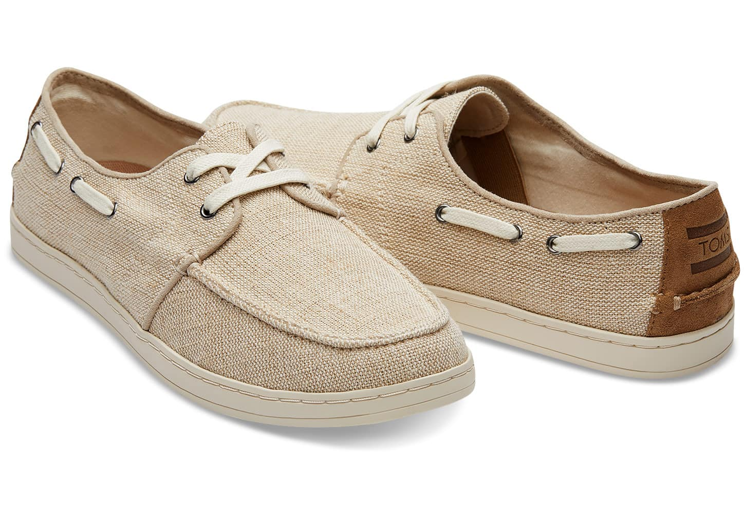 TOMS Surprise Sale: Men's Culver Boat Shoes $24.99, Women's Embroidered Classics $19.99 & More + Free S/H $60+