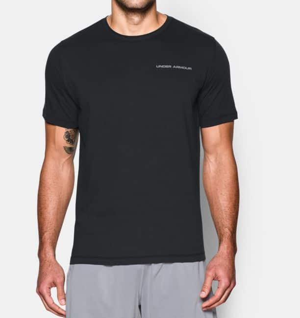 Under Armour Men's Cotton Charged Tee $12.50 Black or White, Boys Train to Game Hoodie $22.50 + Free S/H with ShopRunner