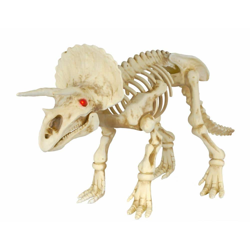 Home Depot Halloween Clearance Home Accents Holiday 17 in. Animated triceratops w/LED Illuminated Eyes $9.99, Gemmy 2 Pack Projection Kaleidoscope $7.49 & More + Free Store Pick Up
