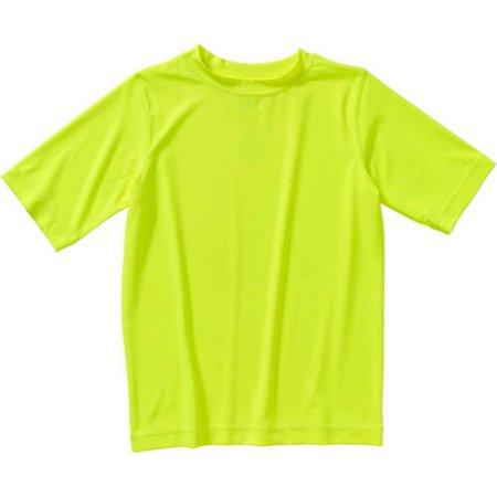 Walmart: Boys OP Rash Guard Acid yellow $3, Blue Sapphire $3.50 + Free Store Pick Up