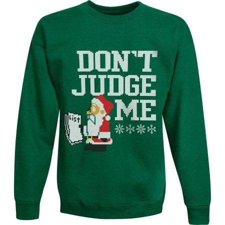 Walmart: Hanes Boys' Ugly Christmas Sweatshirt $5.03, Women's $7.50 + Free Store Pick Up
