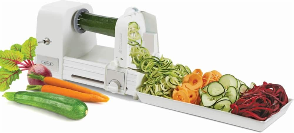 Bella - Electric Spiralizer, Cleaning Brush & Recipe Book $29.99 + Free S/H Today Only