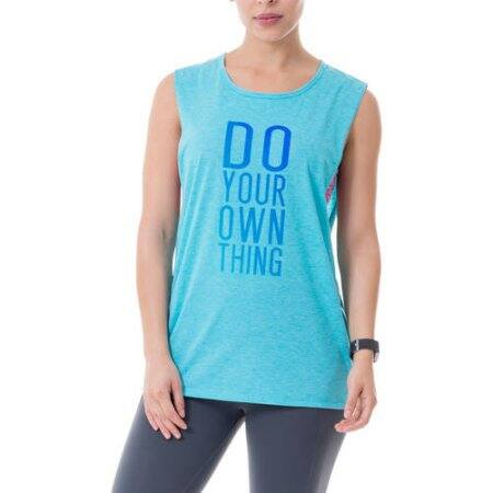 Walmart: Athletic Works Women's Active Graphic Fitspiration Muscle Tank $1, 3 colors + Free Store Pick Up