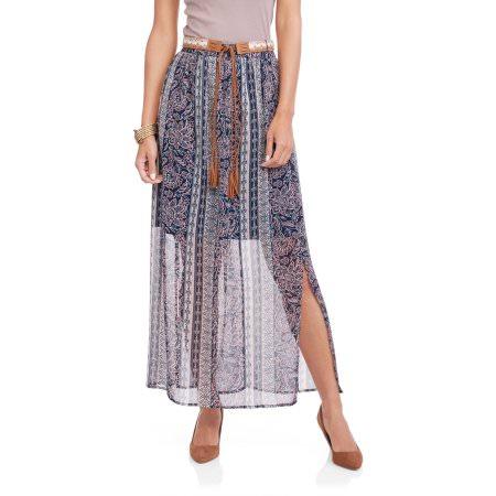 Walmart: Women's Faded Glory Peasant Maxi Skirt $1 (l-xxl), Knee Length Woven Skirt $2 & More + Free Store Pick Up,