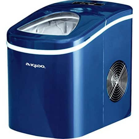 Igloo Compact Ice Maker - ICE108 - Blue $66.09, Red $68.80 + Free S/H