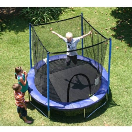 Airzone 8' Trampoline Combo, Blue $77.47 + Free S/H