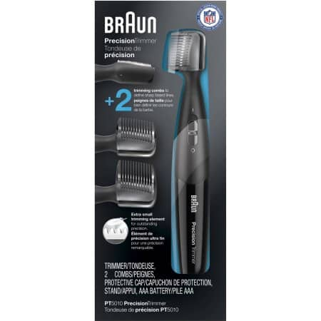 Walmart: Braun Precision Trimmer PT5010 Precise Beard Trimming from Braun, 5 Pc $9.97 after MIR + Free Store Pick Up