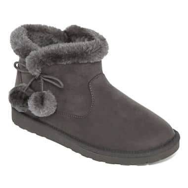 JCPenney Arizona SnowCap Women's Booties $11.24, Arizona, St John's Bay & More Boots & Booties from $14.99 + Free S/H $49+ Today Only