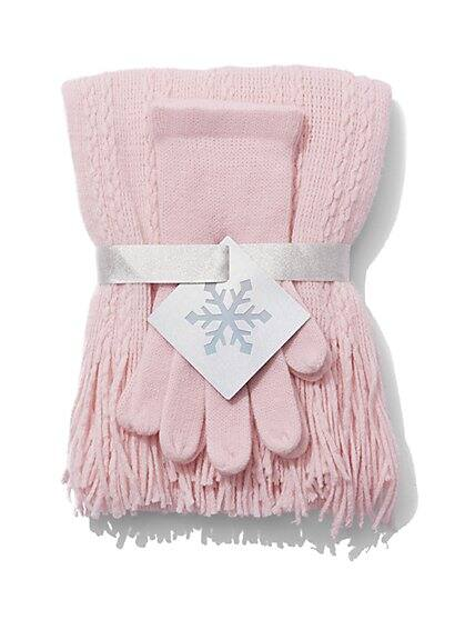New York & Company Women's Hat and Glove Gift Set $5 + free shipping